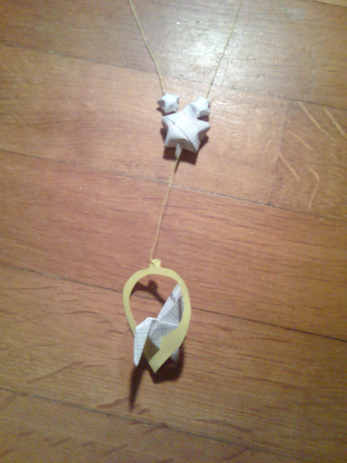 1ere origami collier